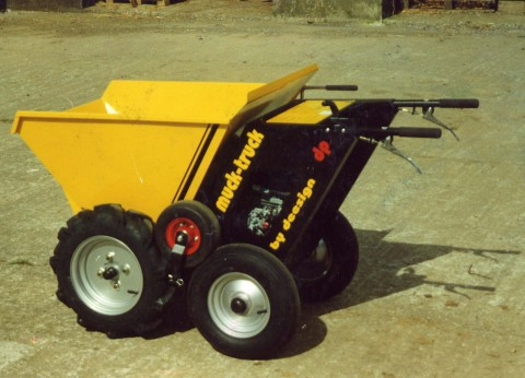 Powered Wheelbarrows from Muck Truck USA